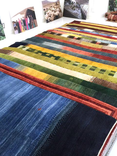 ゾランヴァリ手織りギャッベ展示販売会
