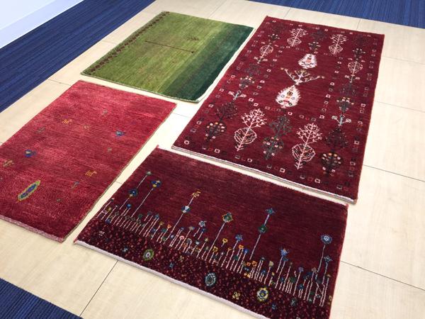 ゾランヴァリ 手織り絨毯 ギャッベ
