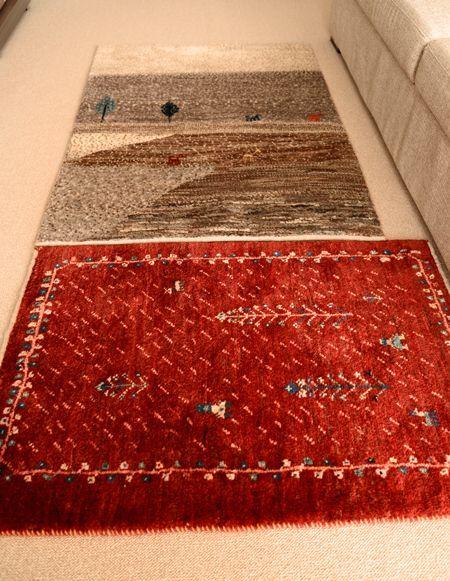 ギャッベ ゾランヴァリ手織り絨毯