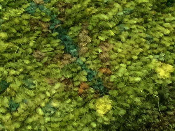 グリーンのギャッベ生命の樹