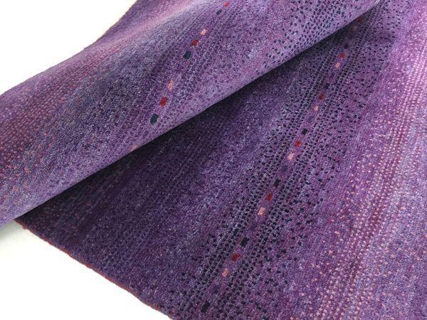 ギャッベ世界展示会ゾランヴァリ最新紫ギャッベ