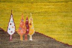 画像7: ゾランヴァリ遊牧民ギャッベ:アマレ ロング(159×54) (7)