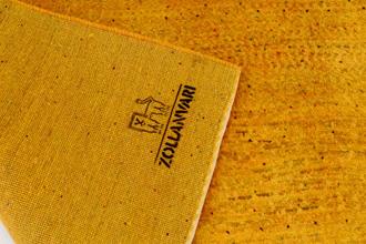 ゾランヴァリのギャッベ 黄金色のリビングサイズ