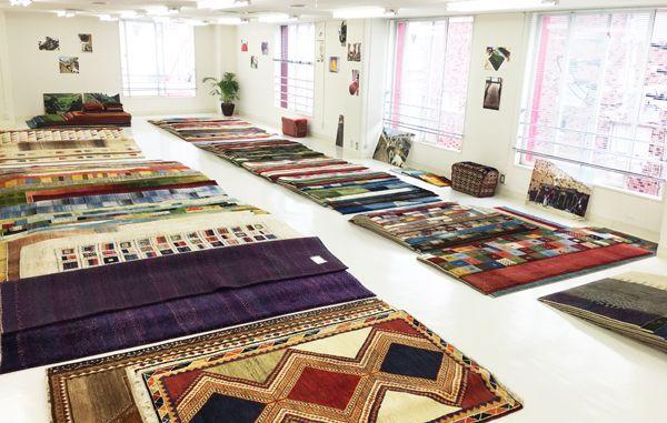 ゾランヴァリ手織り絨毯ギャッベ大展示販売会