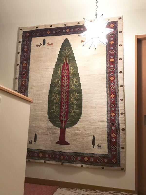 ゾランヴァリギャッベ ルリバフ生命の樹