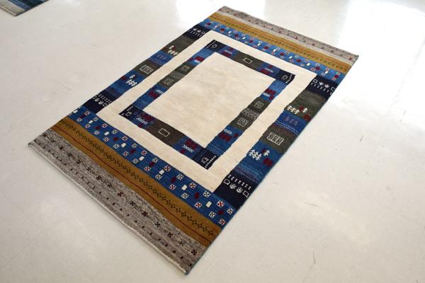 画像1: ゾランヴァリ遊牧民ギャッベ:ゴラム リビング小(161×101)