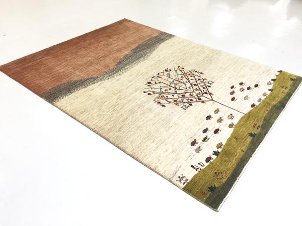 画像1: ゾランヴァリ遊牧民ギャッベ:カシュクリランドスケープ リビング大(237×181)