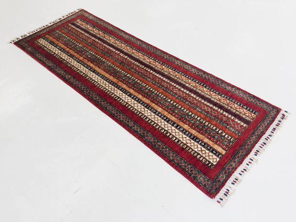 画像1: アフガンカーペット ロングサイズ (1)