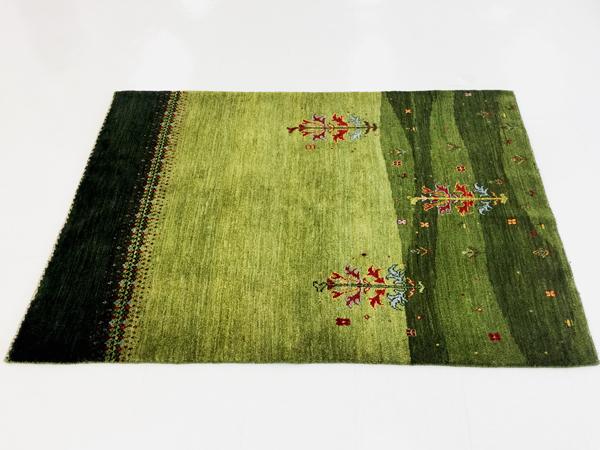 画像1: ゾランヴァリ遊牧民ギャッベ:アマレ リビング中(172×122)