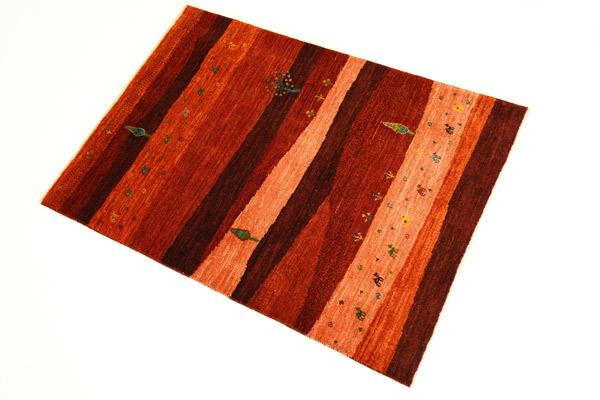 画像1: ゾランヴァリ遊牧民ギャッベ:カシュクリランドスケープ マットサイズ(123×86) (1)