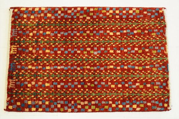 画像1: ゾランヴァリギャッベ:カシュクリ 玄関マット(74×47) (1)