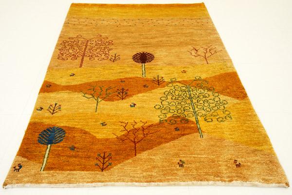 画像1: ゾランヴァリ遊牧民ギャッベ:カシュクリランドスケープ マットサイズ(120×87) (1)