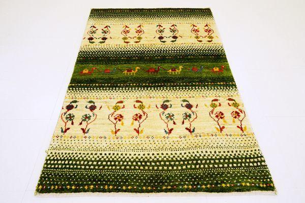 画像1: ゾランヴァリ遊牧民ギャッベ:アマレ ラグサイズ(124×80) (1)