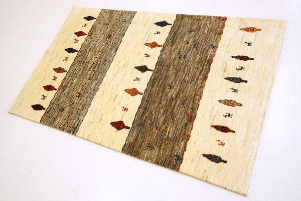 画像1: ゾランヴァリ遊牧民ギャッベ:カシュクリ ラグサイズ(133×84)