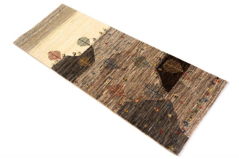 画像1: ゾランヴァリ遊牧民ギャッベ:カシュクリ ロング(154×56) (1)