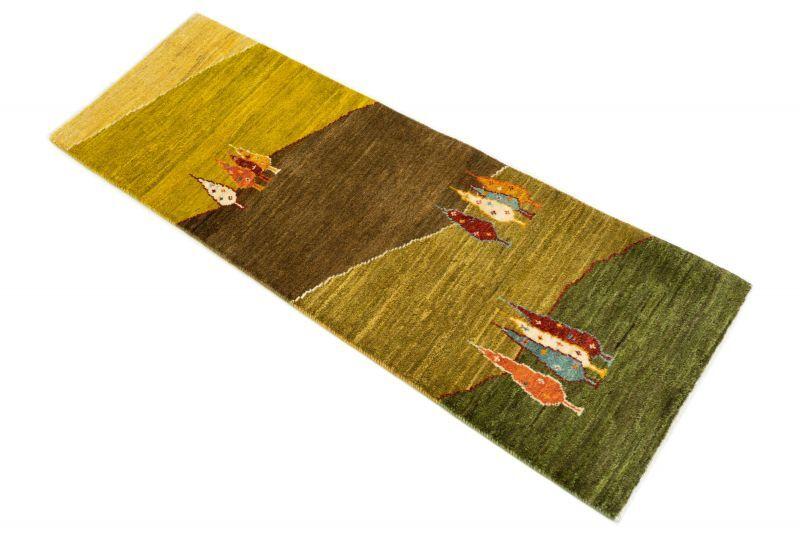 画像1: ゾランヴァリ遊牧民ギャッベ:アマレ ロング(159×54) (1)